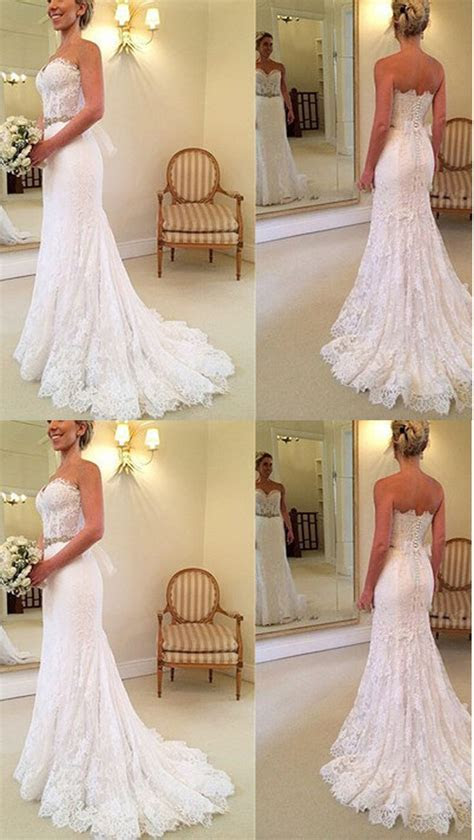 17 Best ideas about Backless Wedding Dresses on Pinterest