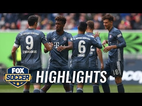 Fortuna Düsseldorf 1-4 Bayern Munich