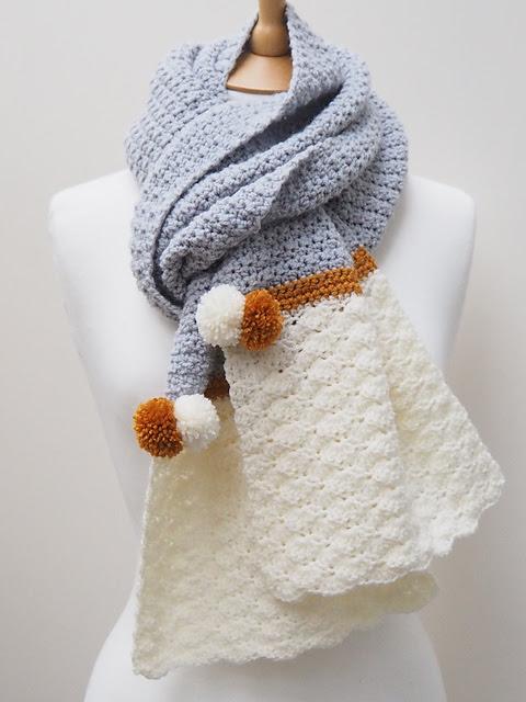 Snow Dipped Scarf par Samantha Roberts