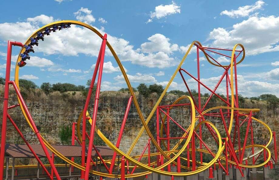 Six Flags Golden Lasso Coaster Fiesta Texas Wonder Woman