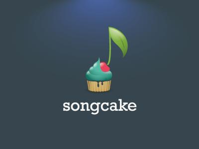 Logo Designs songcake 21 40 músicas baseadas