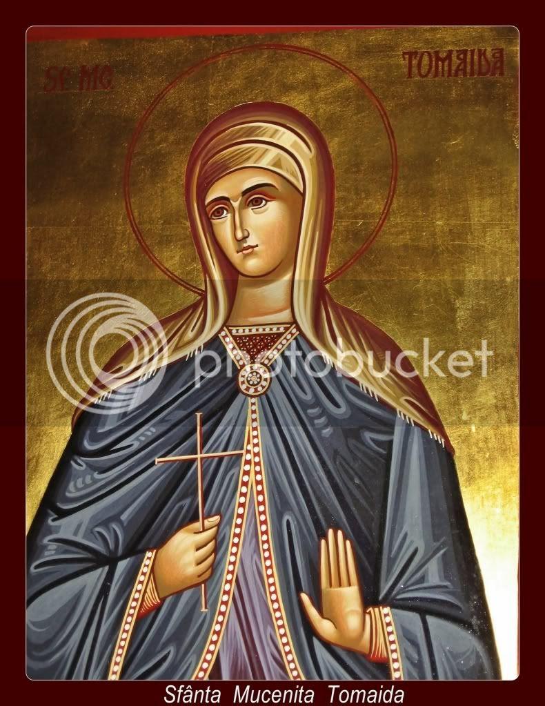 Sfânta Tomaida, apărătoarea familiilor şi a celor dornici de curăţie