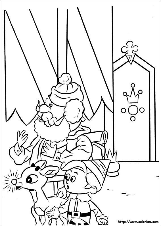 Coloriage Coloriage De Rudolph Un Royaume Pour Les Jouets