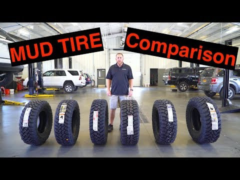 The BEST Mud Tires Compared General Grabber X3, BF Goodrich KM3, Plus Toyo, Nitto, Firestone, Falken