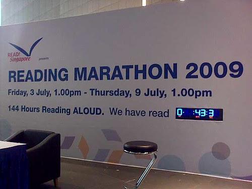 NLB Reading Marathon 2009