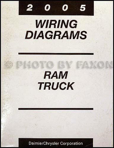 2005 Dodge Ram Wiring Diagram