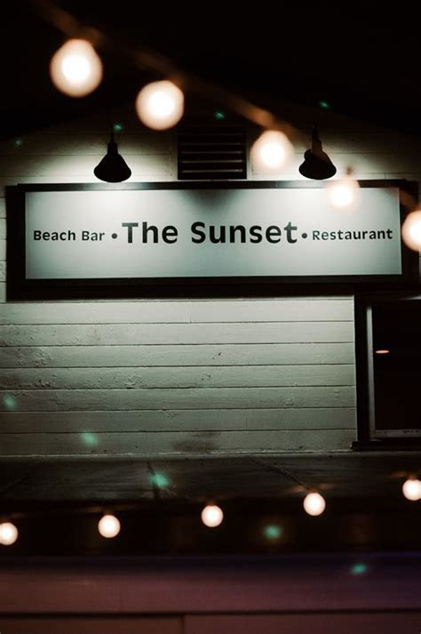 1000  images about The Sunset Restaurant & Beach Bar on