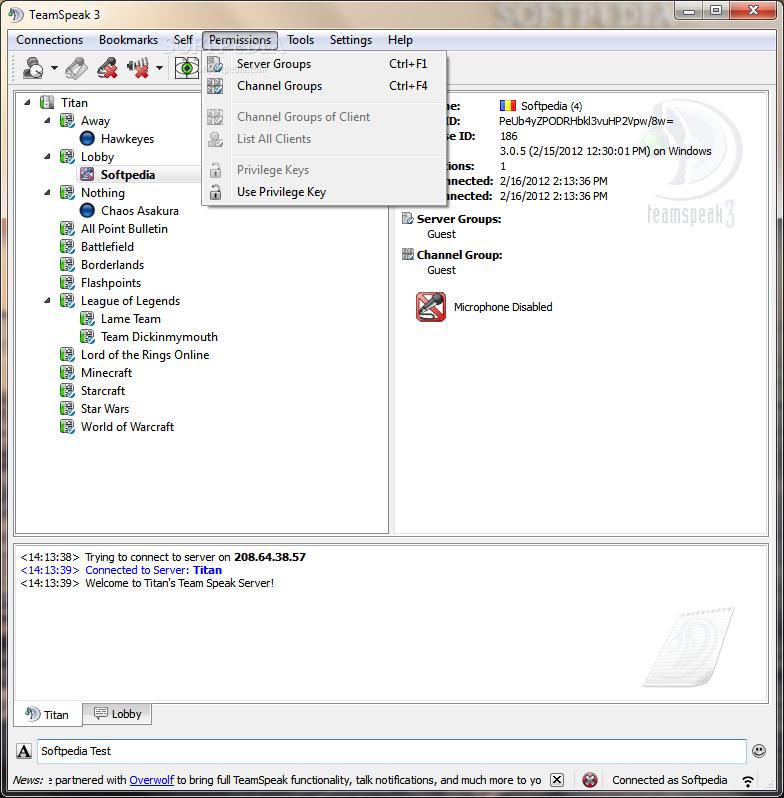 Teamspeak 3 Server Unlimited Slots