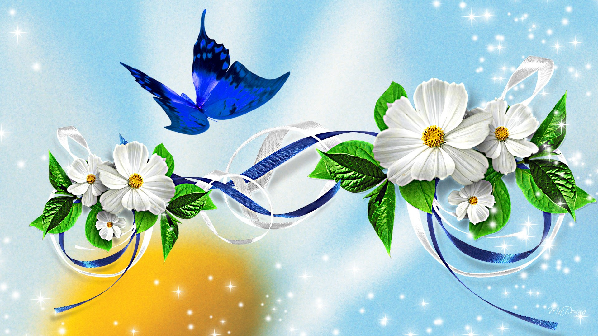 Butterfly Flower Wallpaper | Top Wallpapers
