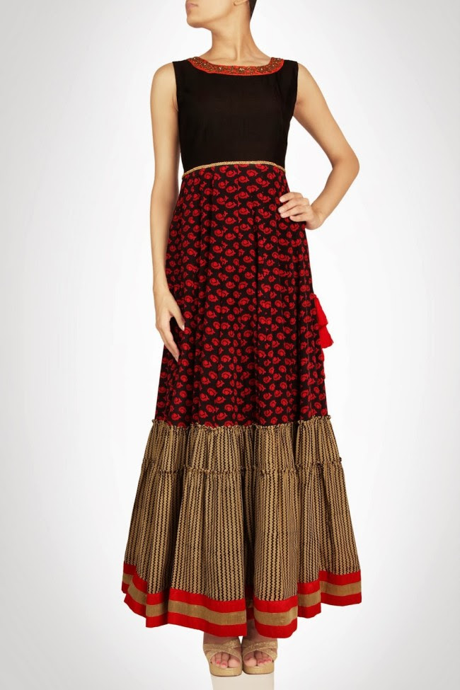Girls-Wear-Beautiful-Maxi-Anarkali-Fashion-Frock-Fashion-by-Designer-Debashri-Samanta-7