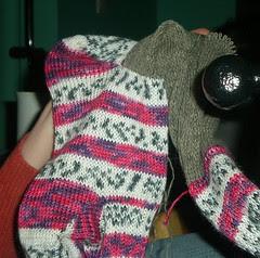 The sock, at last