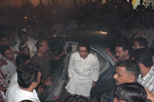 Mr Raj Thackeray At Advocate Ashish Shelars Ganpati Pandal by firoze shakir photographerno1