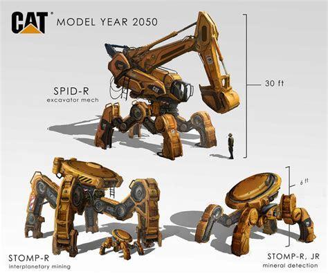 Construction Mechs by eddie mendoza on DeviantArt