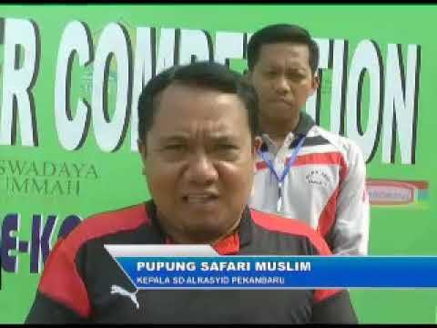 al-Rasyid CUP 1 Mini Soccer Competition Antar SD/MI se-kota Pekanbaru di SD al-Rasyid Pekanbaru.