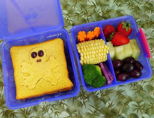 Skull Sandwich Bento by sherimiya ♥
