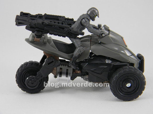 Transformers Backfire DotM Human Alliance - modo alterno