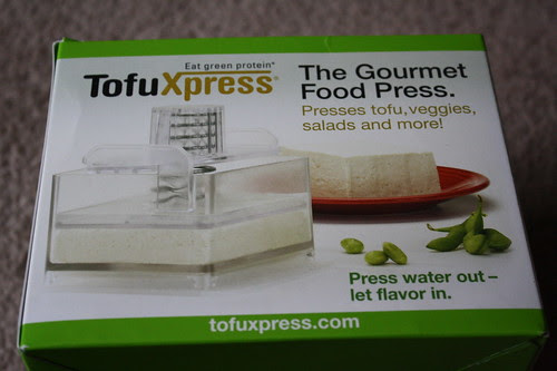 The Gourmet Food Press Tofu Xpress