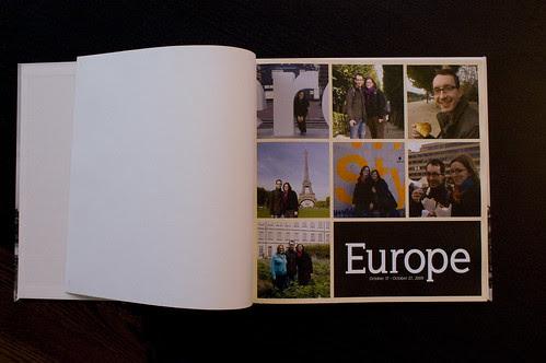 Europe Blurb Book