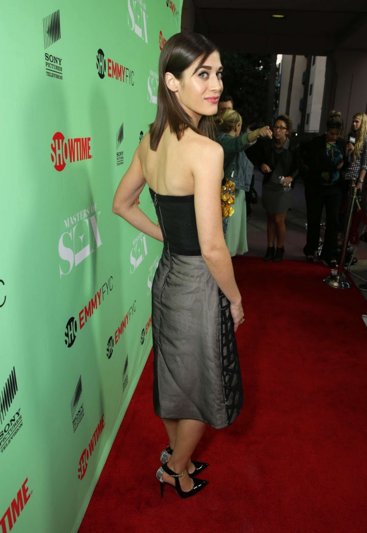 Lizzy Caplan – An Evening with Masters of Sex -17