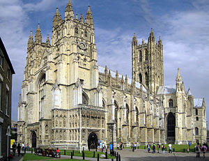 Canterbury Cathedral: West Front, Nave and Cen...