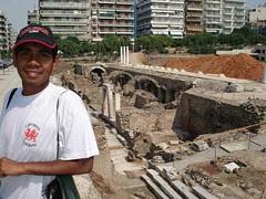 Roman Forum, Thessaloniki, Greece