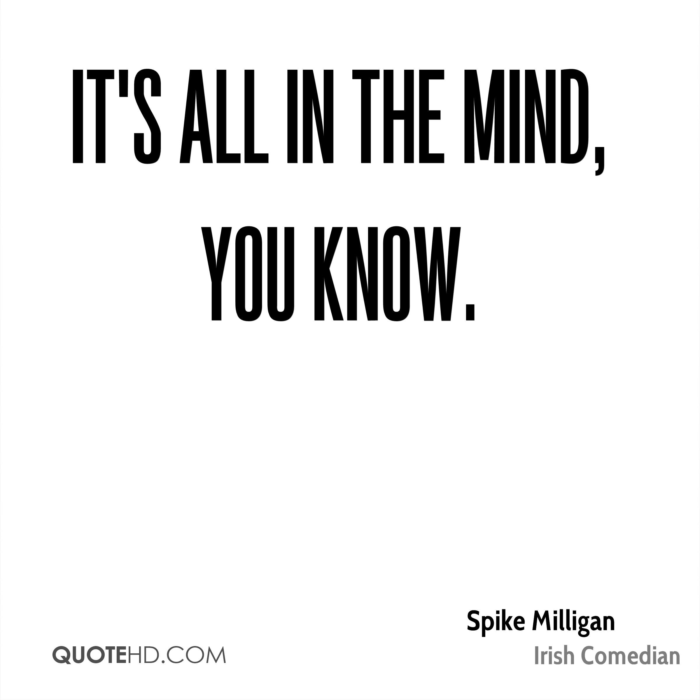 Spike Milligan Quotes Quotehd