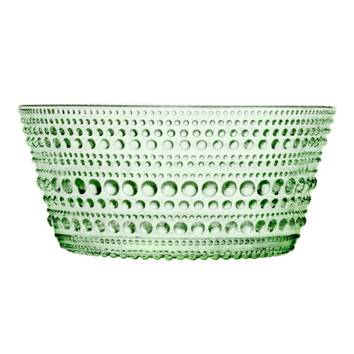 Image from Finnstyle.com iittala Dewdrop Green Dessert Bowls - Set of 4