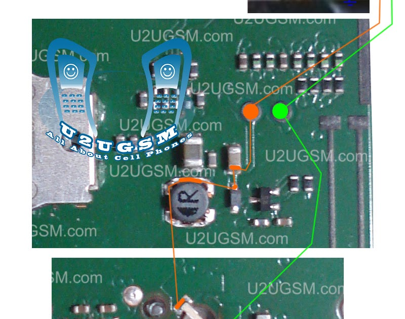 Nokia 1616 Lcd Display Led Lights Problem Solution Ways Jumpers