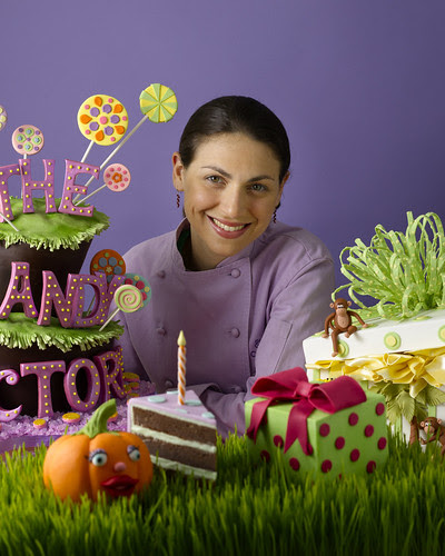 Elisa Strauss, author of Confetti Cakes for Kids