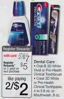 oral care at walgreens Free Crest & Oral B at Walgreens!