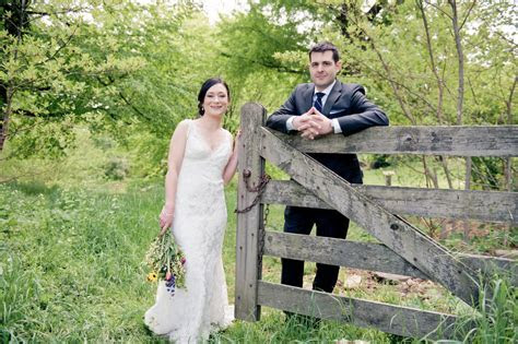 Rustic Country Pennsylvania Wedding Bartram's Garden