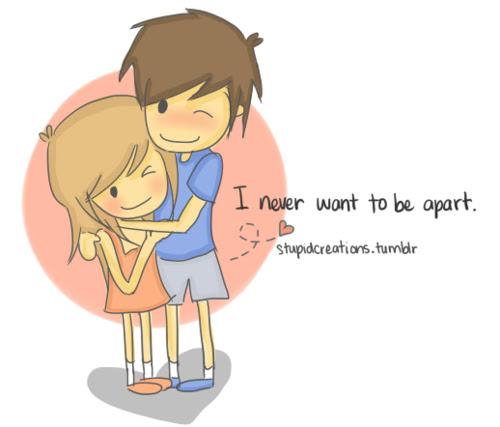 Free Cute Couple Cartoon Hugging Download Free Clip Art Free Clip