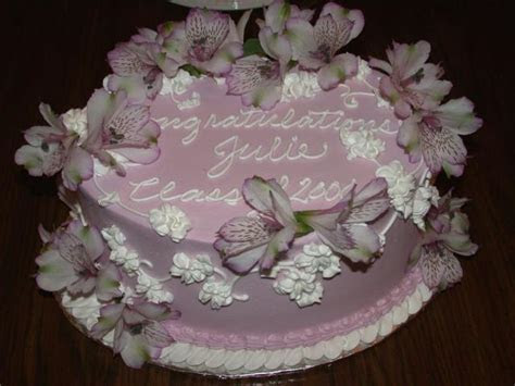 lite purple graduation cake with flowers Hi Res 1080p HD