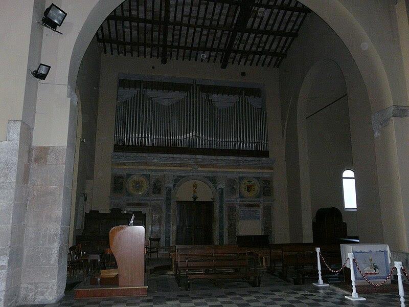 Fil: Acquapendente-Basilica San Sepolcro-organo.jpg