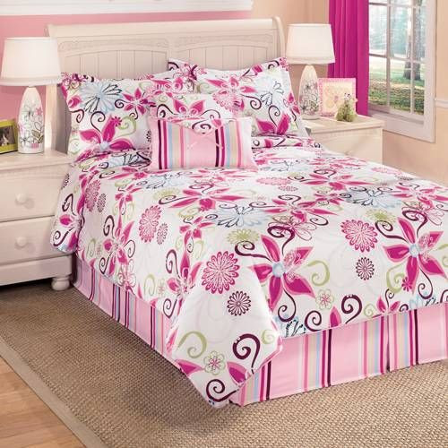 Pink Bedding, Pink Comforters, Comforter Sets, Bedding Sets & Bed In A Bag: The Home Decorating Company