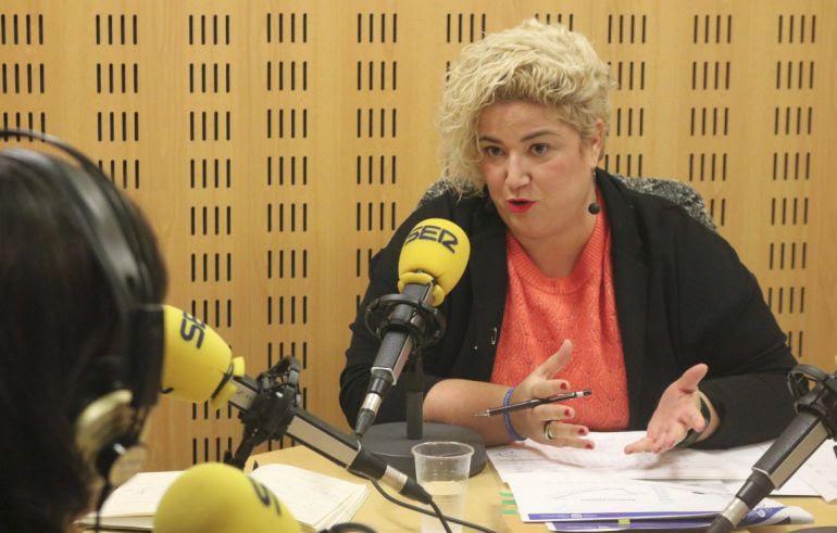 Maite Peña en una entrevista reciente en Hoy por Hoy San Sebastián