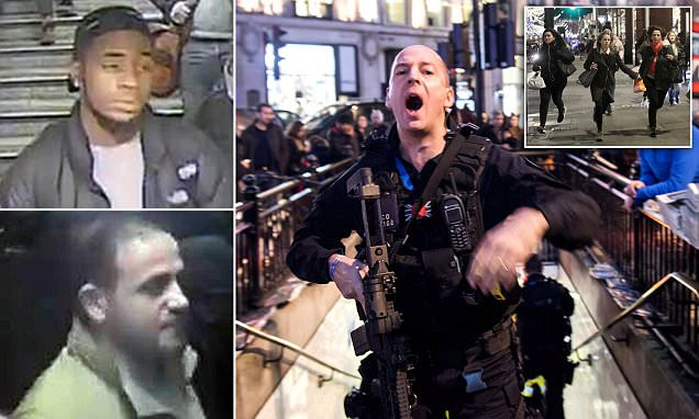 'No shots, no casualties' after panic at Oxford Circus
