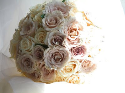 Bridal Bouquet of Metalina Roses For many people myself included