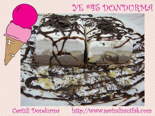 Cevizli Dondurma - Sevimli Mutfak