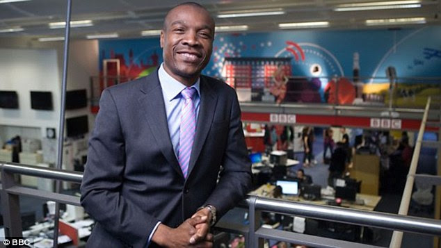 In a statement on the BBC's website, Tunde Ogungbesan (pictured), head of diversity, inclusion and succession at the BBC, said: 'The BBC is a diverse organisation, whichever way you look at it'
