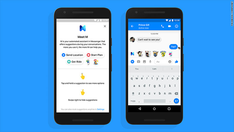 Facebook's virtual assistant M is back -- and ready to ...