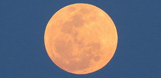 Na véspera do fenômeno, lua cheia em Bonito (MS) já aparece maior e mais brilhante