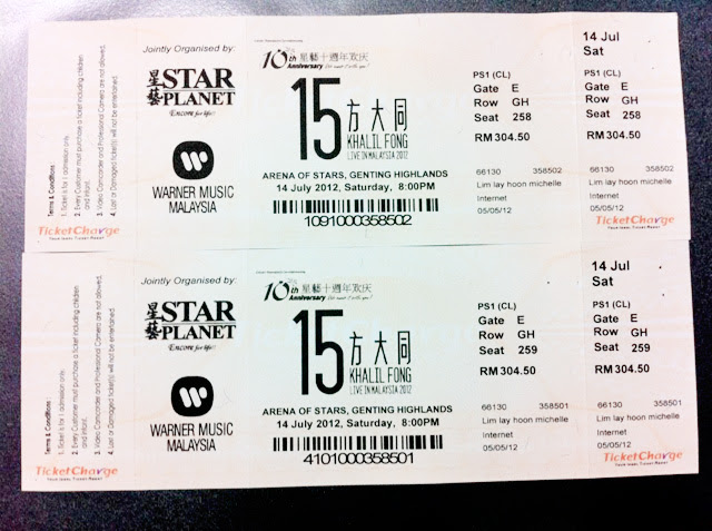 khalil fong genting concert tickets