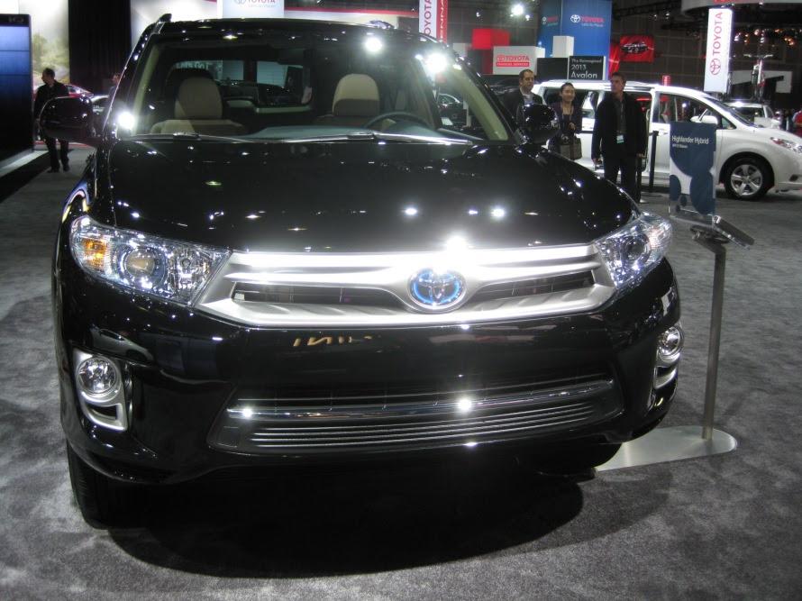 Toyota – 2014 Highlander Hybrid front | Todd Bianco's ...