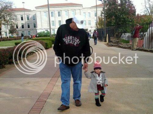 Lily + Grandpa