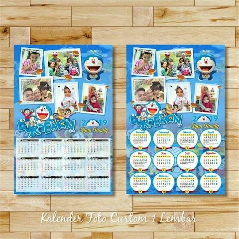 Kalender Dinding 2020 Custom