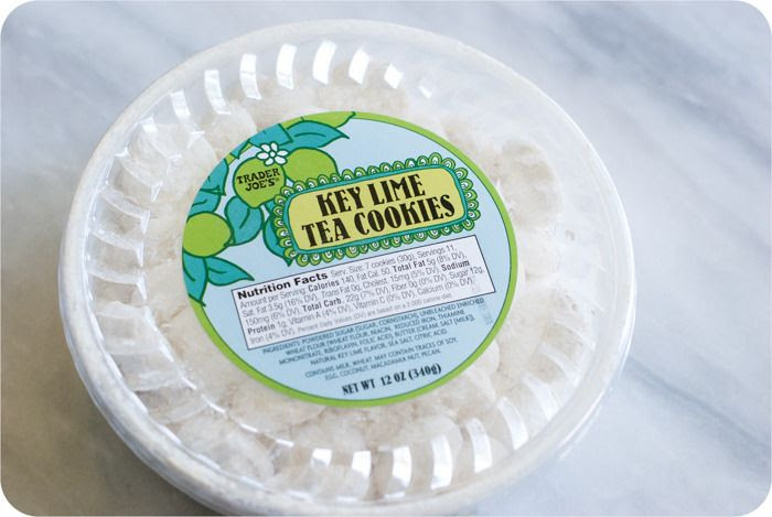 trader joe's key lime tea cookies review : part of a weekly review series of tj's desserts and treats