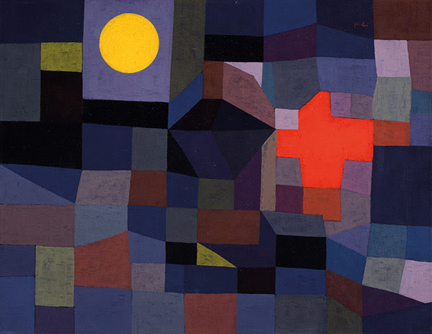Paul Klee: Fire at Full Moon 1933