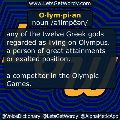 Olympian 08/03/2016 GFX Definition