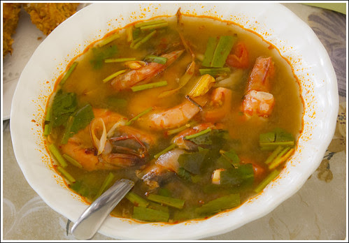 Tom Yum with Prawns